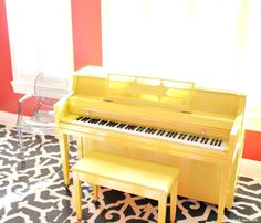 Happy Yellow Piano p