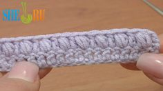 Open Puff Stitch Crochet Tutorial 37 Part 3 of 3 Crochet Basics  https://www.youtube.com/watch?v=O_oeT8PCjYg Learn how to work an open puff stitch with our crochet online tutorials for beginners. There are three ways to make a puff stitch. In this third part of our video tutorial we show you how to work an open puff stitch.