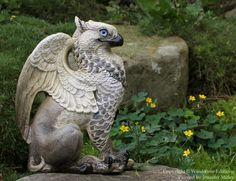 Labradorite Griffin Windstone, I will have a griffin in my garden one day!
