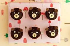 DIY Bear Cupcakes.