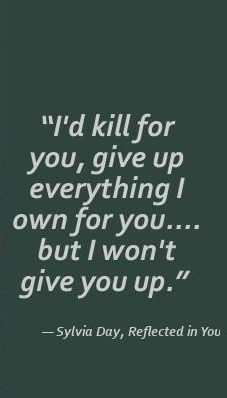 #Crossfire I love when Gideon says this to Eva