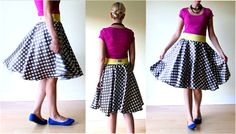 the Circle Skirt