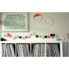 String Lights For Children S Room : Cotton Ball Lights on Pinterest Cotton Ball Lights, Cotton and String Lights