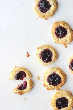 Cherry Bakewell Cookies | The Sugar Hit