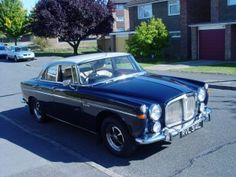 Rover P5B Coupe - owned by The Queen, every British PM in the 1970s and massive on the road. Sadly, 12mpg