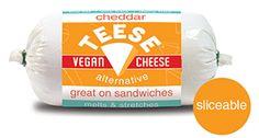 tees vegan, cheddar vegan, vegan cheese
