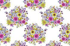 Flavor Paper Pop Bouquets floral background