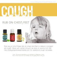 Baby Steps to Essential Oils - Cough Recommendation