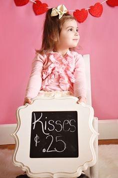 Valentine's Day Children Photography Children's photography -Repinned by Steve La Motte - Steveo's Photo Cafe