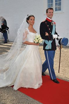 Marie Cavallier joined the Danish royal family in 2008 when she wed her Prince Joachim