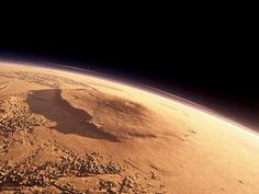 Mars' Olympus Mons, The Tallest Mountain in our Solar System, as Seen From Orbit