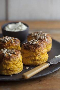 // pumpkin scones