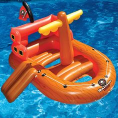 Pirate ship inflatable!