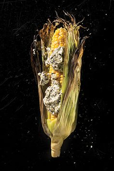 Grilled Corn with Herbed Goat Cheese Butter | SAVEUR