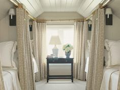 Cool for unused attic space if you have guests often. Bunk room - gorgeous yet functional