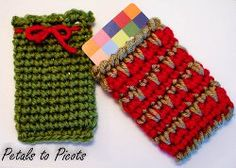 Gift Card Holder: free crochet pattern