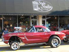 Corvette Dragster Gasser, via Flickr.