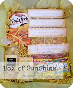 Fun packages to send