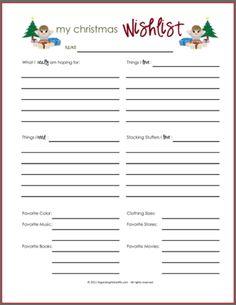 little girls, organizing ideas, christma gift, printabl christma, list, holiday gifts, music books, kid, christmas gifts