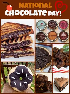 national chocolate day recipes and chocolate themed gifts