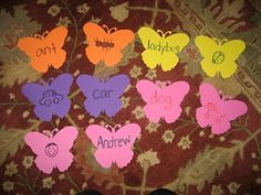 Butterfly Word/Alphabet Game