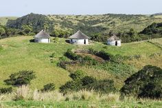 Xhosa huts South Africa