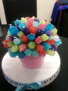 candy centerpieces from Sinfully Sweet Candy Buffet!