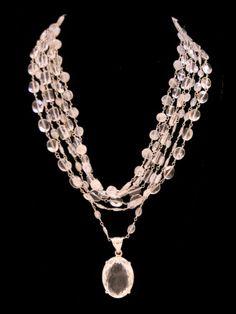SAFIA Moonstone Necklace