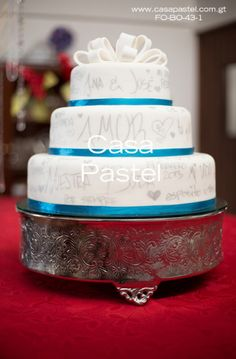 Pastel de boda.