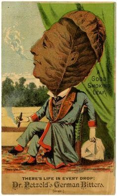 Patent Medicine Trade Cards, c.1900  