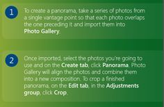 How to Create A Panorama Stitch using Windows