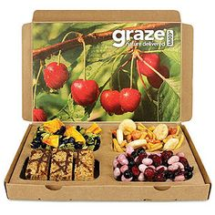 Choose from 90+ Graze snacks, which an in-house nutritionist approves as portion-controlled and good for you.