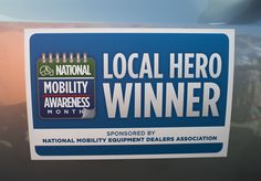Congratulations to Courtney Boyll. We had an exciting day with #SerraToyota, #VMI, #ToyotaMobility, and #GriffinMobility to give away our second van. #NMAM14