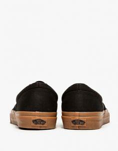 Classic | Vans Era in Black with Classic Gum