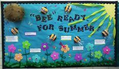 Summer Kindergarten and Elementary Bulletin Board Idea