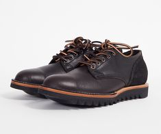 Viberg #145 Oxford. Ideal boot alternative this fall ~ Old Man Fancy.