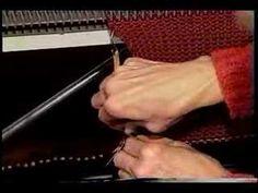knit machin, knit video, vintag knit, machin knit, work knit