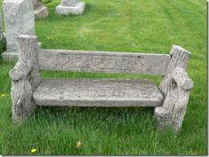 "Reardon Bench,"" Mt. Carmel Cemetery, Hillside, Illinois"