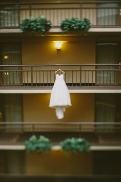 great dress shot // photo by Paige Jones // http://ruffledblog.com/romantic-oregon-riverside-wedding