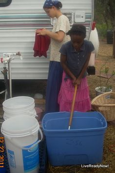 Laundry On the Off Grid Homestead ~ 1  Live Ready Now blog.