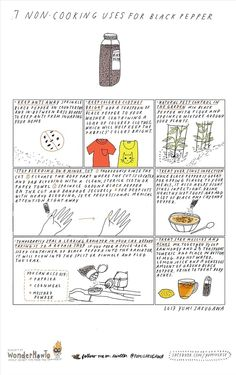 7 Non-Cooking Uses for Black Pepper « The Secret Yumiverse