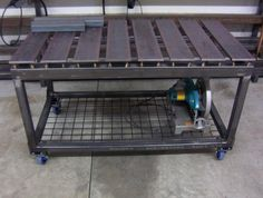 This could be the ultimate welding table. - Page 3 - The Garage Journal Board
