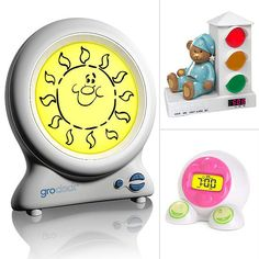 Clocks That Teach Kids to Stay in Bed