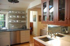 More open shelving kitchen shelves, open shelves, traditional kitchens, kitchen photos, tile, cabinet design, bathroom designs, kitchen designs, open shelving