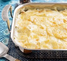 Au Gratin Potatoes #thanksgiving #sides #holidays