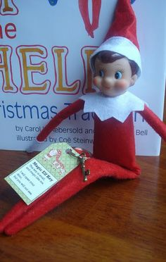 """East Coast Mommy: Magic Elf Key - for our """"Elf on the Shelf""""... including a free printable"""