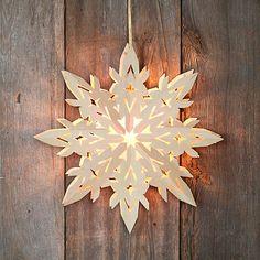 Swedish Pine Star Lantern