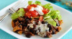 Taco Casserole - healthy makeover