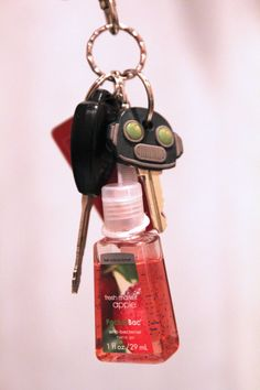 Ridiculously Easy DIY Hand Sanitizer Holder