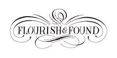 Flourish & Found Logo by ohmycavalier, via Flickr